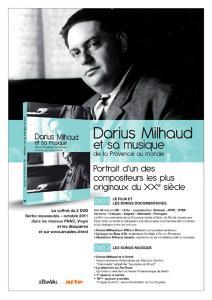 Darius Milhaud et sa musique