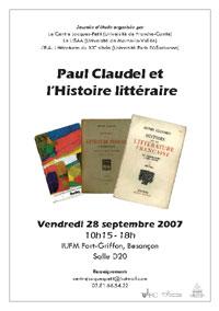 2007 09 28 histoire litteraire