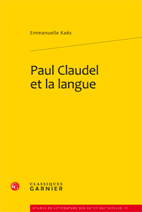 Paul Claudel et la langue 0