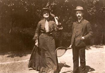 Zdenka Braunerova et Milos Marten