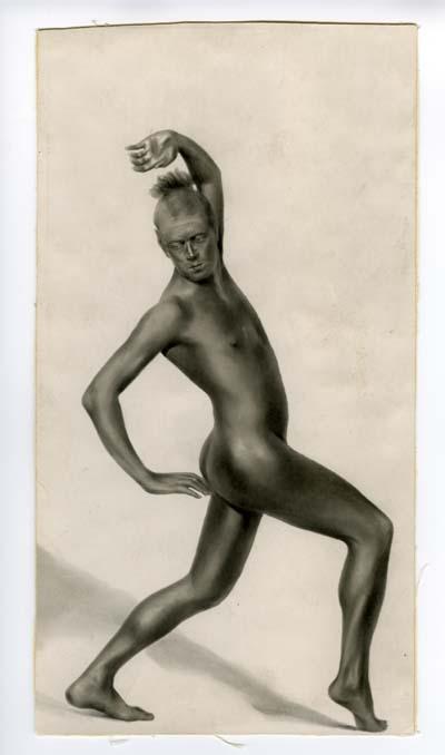 Jean Börlin dans L'Homme, Photo Isabey
