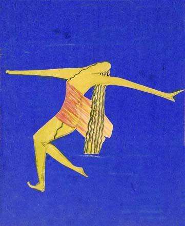 Audrey Parr : La Femme I (© Musée de la Danse, Stockholm)