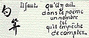Cent Phrases pour éventail - D.R.