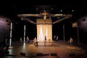 2) L'Otage, Acte II scène 1, Turelure et Sygne de Coûfontaine, copyright François Passerini