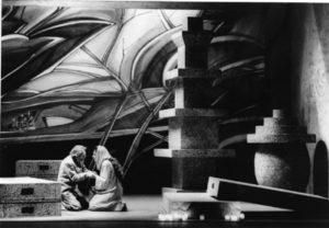 Acte II, Mesa et Ysé à genoux, copyright Maria Mulas