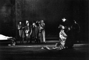 Le meurtre du Roi (David Baudinat) par Tête d'Or (André Marcon)