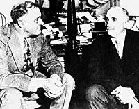 Claudel et Roosevelt en 1933